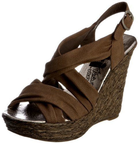 Xti 25221, Damen Fashion-Sandalen Braun (Brown)