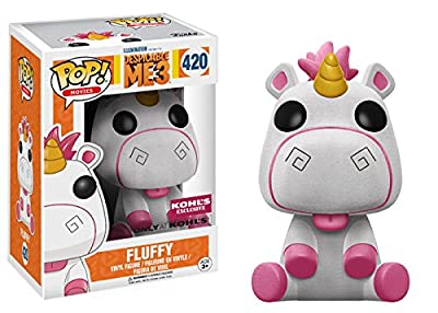 FUNKO - Figurine POP Despicable Me 3 Fluffy Flocked (Exclusive)