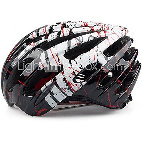 PIGE Ajuste PROMEND ciclo MTB bicicleta de carretera saftly Casco con 27 respiraderos Ultraligero 230g moldeada integralmente