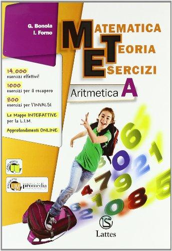 Matematica teoria esercizi. Aritmetica. Con tavole numeriche-Il mio quaderno INVALSI 1. Ediz. essenziale. Per la Scuola media. Con espansione online