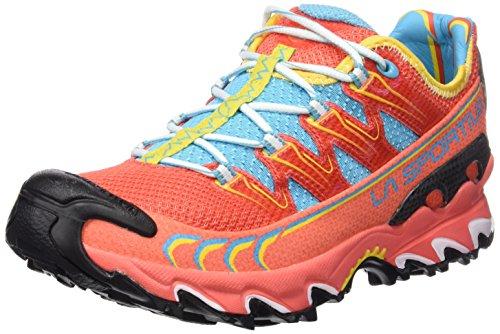 La Sportiva Ultra Raptor Woman - Deportivos de running para mujer, color coral, talla 39