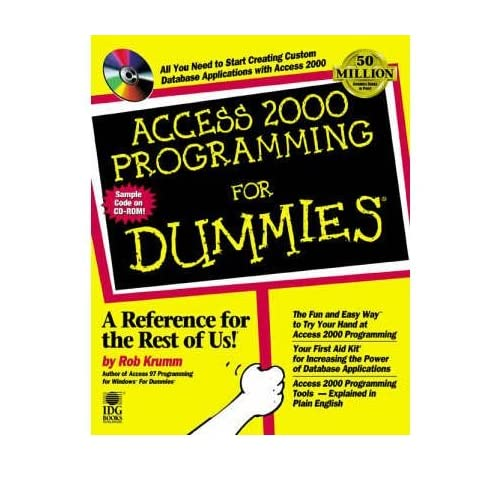 [(Access 2000 Programming For Dummies )] [Author: Rob Krumm] [Jul-1999]