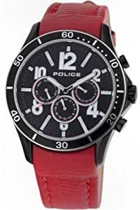 Police Gents Theory Red Watch 12738JSBS-02B