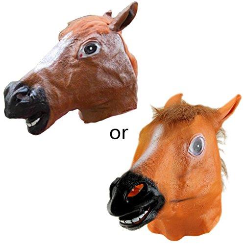 Cosplay Pferd Kopf Maske, Gangnam Style Spielzeug, Dekoration Halloween Party, Cosplay Geschenke ()
