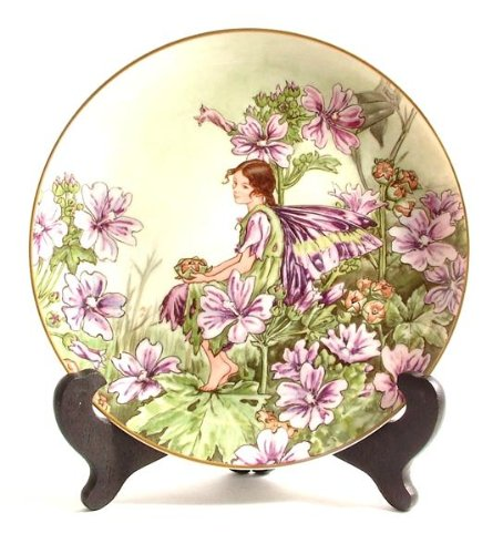 Heinrich Villeroy & Boch The Mallow Fairy by Cicely Mary Barker Flower Fairies Collection CP552