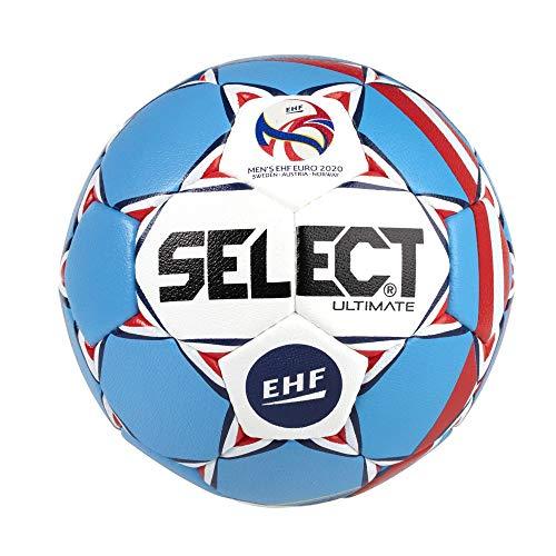 Select Ultimate Ball Unisex, Uni, Blau/Weiß, Senior(3)