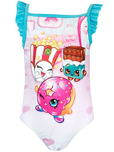 Shopkins Girls Donna Donut & Cheeky Chocolate Swimsuit Age 6 to 7 Years