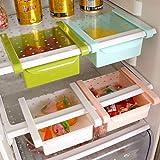 Appliances Refrigerators Best Deals - 2 Pcs Fridge Space Organiser Storage Rack Shelf Drawer By Inovera