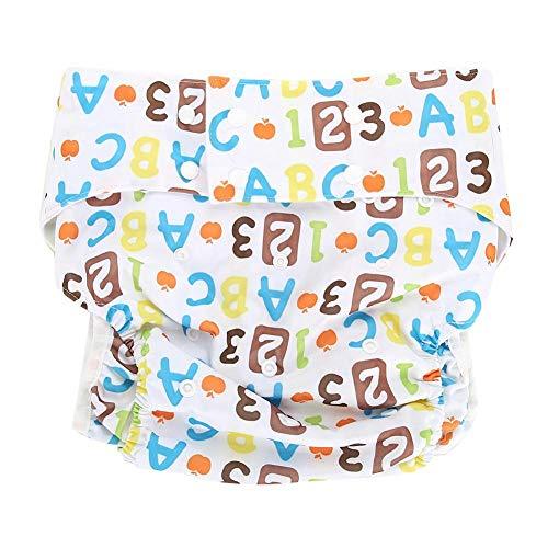 Stoffwindel für Erwachsene- Stoffwindel für Inkontinenz, für Erwachsene, doppelte Öffnung, waschbar, verstellbar, wiederverwendbar, auslaufsicher(# 03)