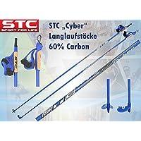 STC 60% Carbon Langlauf Stöcke Cyber