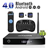 TV Box Android 7.1, [2G+16G] 2018 GooBang Doo XB-III Smart TV Box 4K Full HD con...
