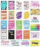 Set 25 Postkarten mit Sprüchen - Karten mit Spruch - Geschenkidee - Dekoidee - Liebe, Freundschaft, Leben, Motivation, lustig – Postcrossing - Geburtstagskarten