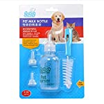 PYRUS Pet Nurser Bottle Kit Dog Cat Nursing Feeding Bottle Set for Kittens puppies & Small Animals