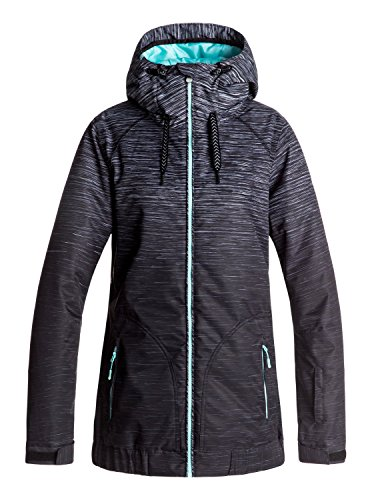 Roxy Valley - Snow Jacket for Women - Snow Jacke - Frauen - L - Schwarz