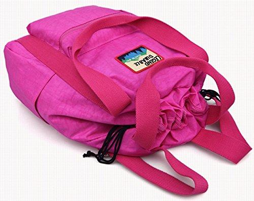 Keshi Niedlich Schulrucksäcke/Rucksack Damen/Mädchen Vintage Schule Rucksäcke mit Moderner Streifen für Teens Jungen Studenten Lila