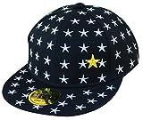 THENICE Kind Hip-Hop Sterne Cap Baseball Kappe Hut (Venus schwarz)