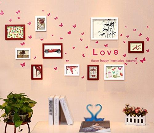 Mainstream-wohnzimmer (Asl einfache Foto Solid Wand-Holz der Struktur Wand des Wohnzimmer verkaufen Kombinationen Überspannungsschutz Mainstream Wilder Stil kreative Restaurant Kombination Wand Happy A)