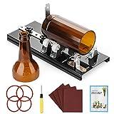 AGPTEK Kit de cortador de botellas de vidrio, botella de vino/herramienta de corte de cerveza con 5 ruedas de corte, herramienta de corte - Bricolaje/Hágalo usted mismo