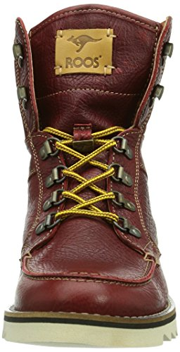 Kangaroos Chieftain, Boots homme Rouge (Bordeaux 640) ...