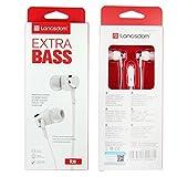 Y56 Oreillettes intra-auriculaires stéréo 3.5mm d'écouteurs universels avec micro pour le téléphone portable (Blanc)