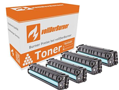 vollDerBurner XL 4X Toner HP 201A / 201X 1x 2800 & 3X 2300 Seiten CF400X / CF400A, CF401A, CF402A, CF403A M252 M277 - Lj 2300-serie