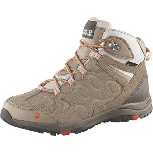Jack Wolfskin Chaussures de randonnée pour femme marron