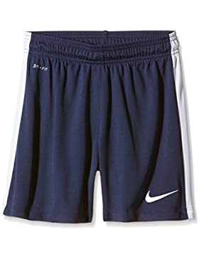Nike YTH League Knit Short NB Pantalón Corto, Unisex niños, Azul (Midnight Navy/White/White), M