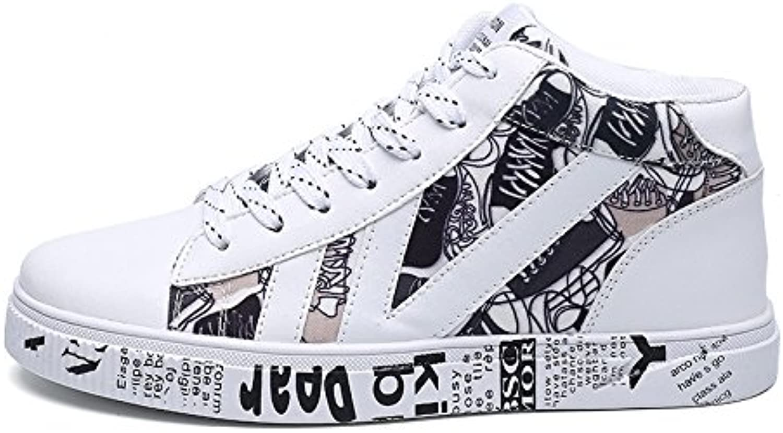 Scarpe casual, espadrilli, moda casual scarpe alte espadrilli per gli studenti,bianca,43 | Qualità Primacy  | Uomo/Donne Scarpa