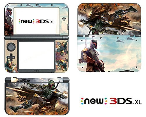 Vanknight Vinyl Decals Skin Sticker Boba Fett for the New Nintendo 3DS XL 2015 Star Wars by Vanknight