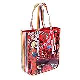Wendekreis Berlin Shopper Tokyo Night süße Einkaufs-Tasche ca. 31x36x9cm
