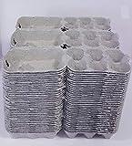 Générique Carton de Huevos Gris para 6 Huevos Lote de 105 Piezas