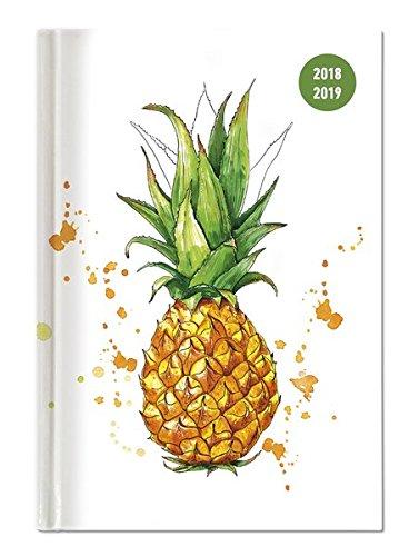 """Diario agenda scuola collegetimer """"Ananas"""" 2018/2019 - Settimanale - 224 pagine - 15x21 cm"""