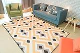 WXIN Der Teppich Im Wohnzimmer/Schlafzimmer Couchtisch Bett/Fußmatte Voll-/160X230Cm/B
