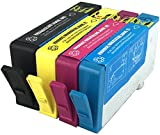 Great Value Compatible HP364XL Ink Cartridges. 4 Compatible HP 364 Cartridges for HP Deskjet 3070, 3520, 3524, Photosmart B010, B109, B110, 5510, 5512, 5514, 5515, 5520, 5524, 7520