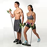 #7: ZZ ZONEX 5 Minutes Exercise Roller with Handy Carry Bag - Complete Body Workout Machine