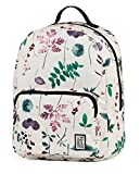 The Pack Society Rucksack, 16 Liter, Dark Floral Allover