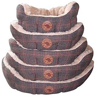 Country Pet Luxury Tweed/ Hand-Crafted/ Tweed Fabric Dog Basket, 50 x 40 cm 7
