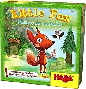 HABA- Juego de Mesa, Little Fox - Médico de Animales, (Habermass H304071)