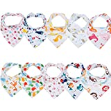 Labebe Baby Bandana Bibs Drool/Burpy Bibs Unisex 10-Pack - Best Reviews Guide