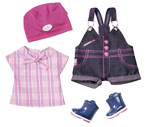 Zapf Creation 823682 - Baby born Pony Farm Deluxe Outfit, Puppen (Baby Kleidung Born)