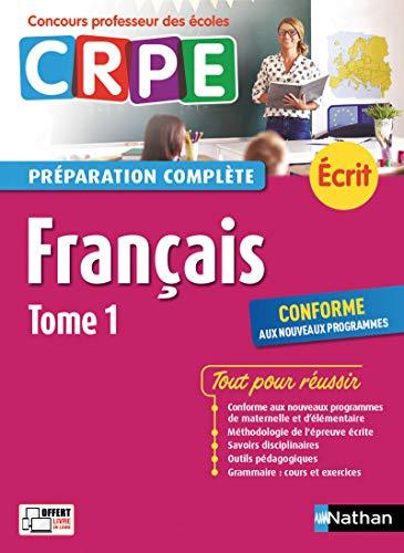CRPE écrit 2018. Français - Tome 1 par Claire DOQUET