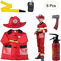 Luerme Kids Dress-Up Set Doctor Role Play Costume Pretend Play Doctor Kit