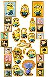 30 tlg. Set _ GLITZER Aufkleber / Sticker - Minions