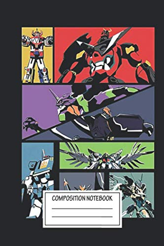 Notebook: Super Robots , Journal for Writing, Size 6