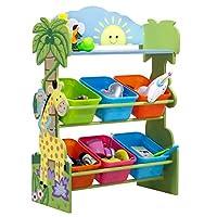Fantasy Fields by Teamson TD-12242AR Sunny Safari Toy Organiser