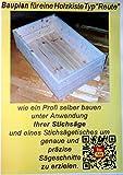 Holzkisten Bauplan zum selber bauen mit Anleitung und Sägetipps