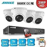 Best ANNKE Dvr Cameras - ANNKE 8CH HD-TVI H.264+ DVR 4 Caméras Métal Review