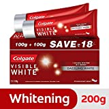 Best Whitening Toothpaste - Colgate Toothpaste Visible White Sparkling Mint - 200 Review