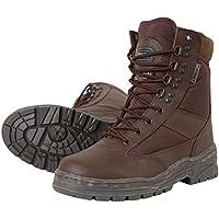 Kombat UK da uomo in pelle metà/Half Cordura Patrol stivali, Uomo, Half Leather/Half Cordura, MOD Brown, Dimensione 8