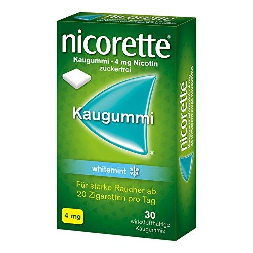 Nicorette 4mg whitemint 30 stk